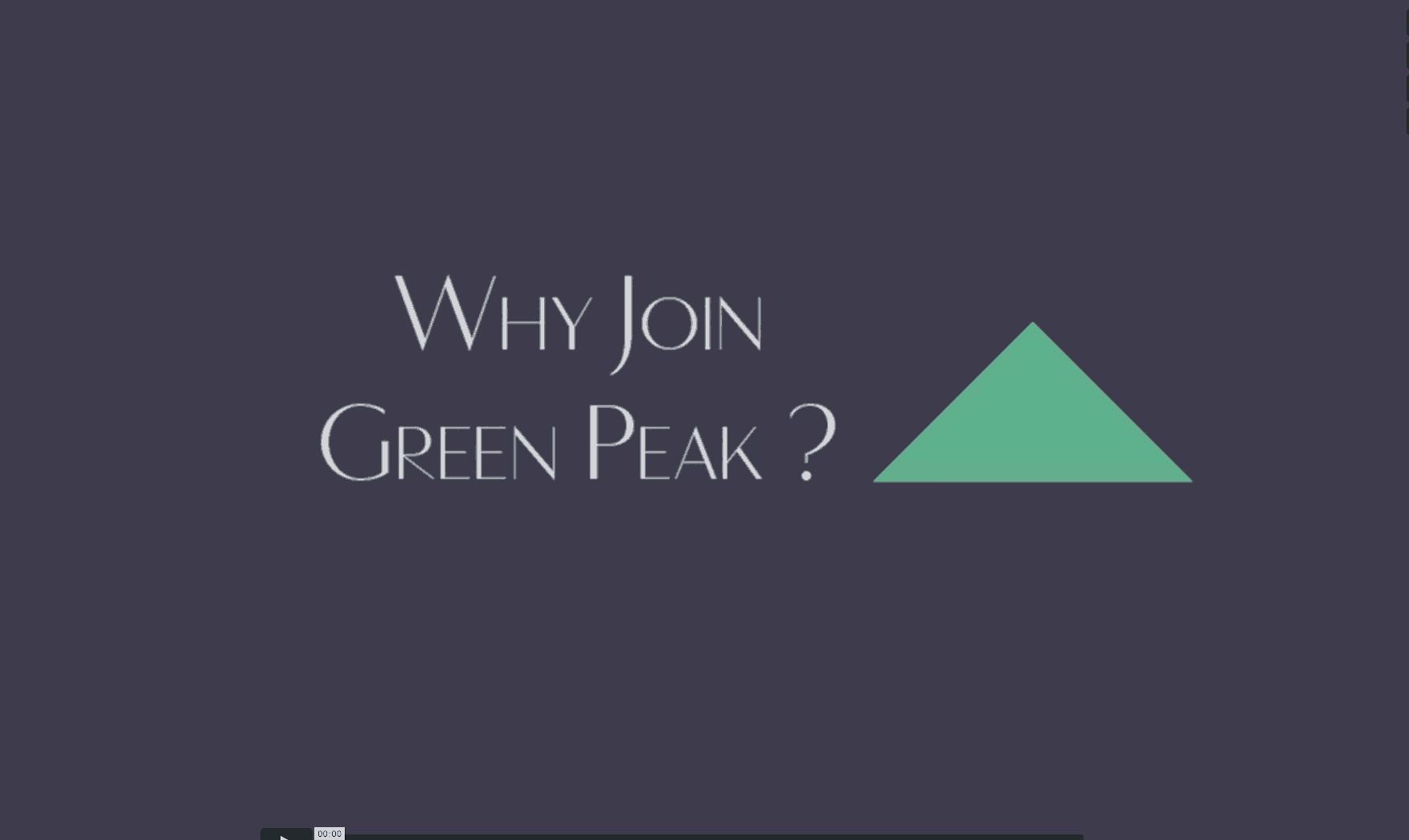 WhyJoinGreenPeak